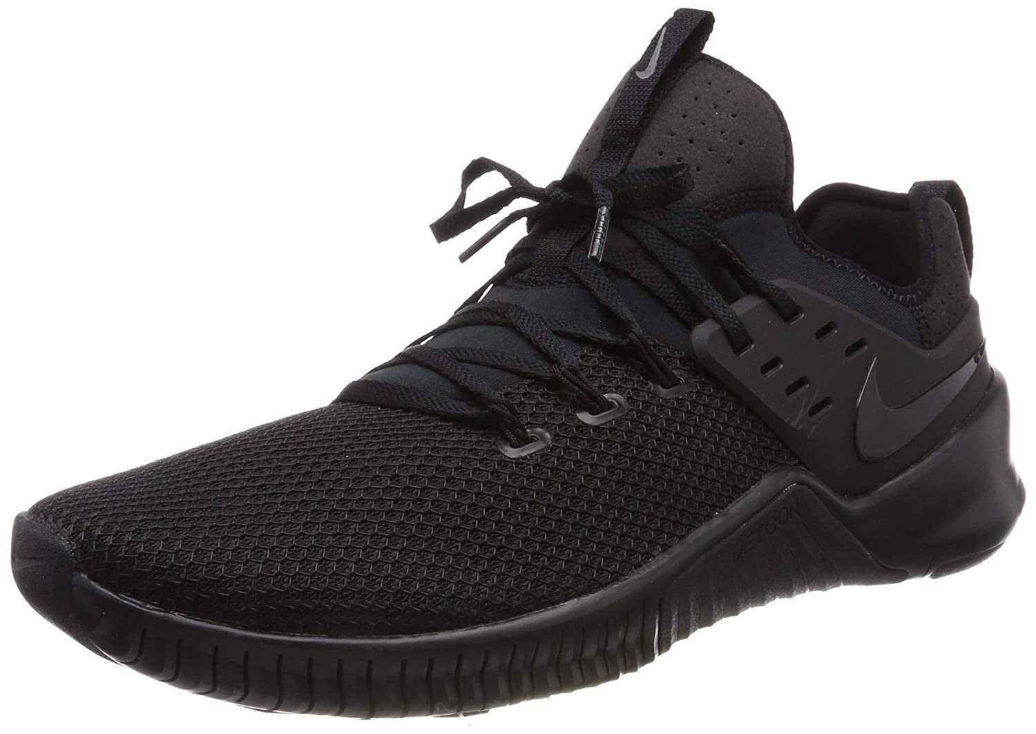 Nike Mens Free Metcon Training Shoes 10.5 D M US Black Black Black