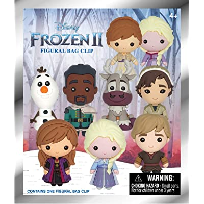 Disney Frozen 2 - 3D Foam Figural Bag Clip in Blind Bag: Toys & Games