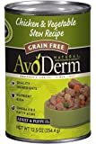 AvoDerm Natural Canned Wet Dog Food