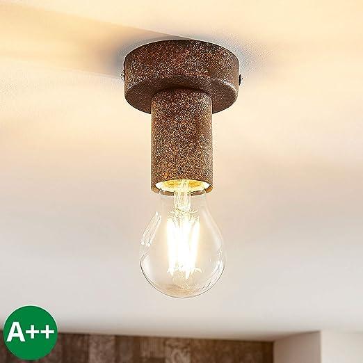 Lámpara de techo Jake (Industrial) en Marrón hecho de ...