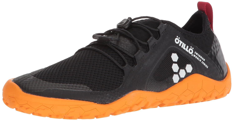 Vivobarefoot Women's Primus Swimrun FG Specialist Firm Ground Trail Running Shoe B06XCFMNTC 36 D EU (6 US)|Black/Orange