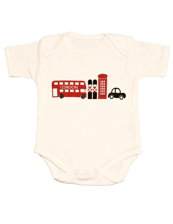 Zaza London Baby-Boys' London Souvenir Design Suit Vest Newborn Gift