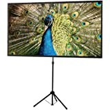 celexon 80 Tripod Projector Screen Ultra Lightweight 16 9 format Ultra Portable 11 lbs weight Mobile presentation and cinema solution