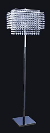 Crystal standing floor lamp light classic modern lighting 6832 crystal standing floor lamp light classic modern lighting 6832 aloadofball Choice Image
