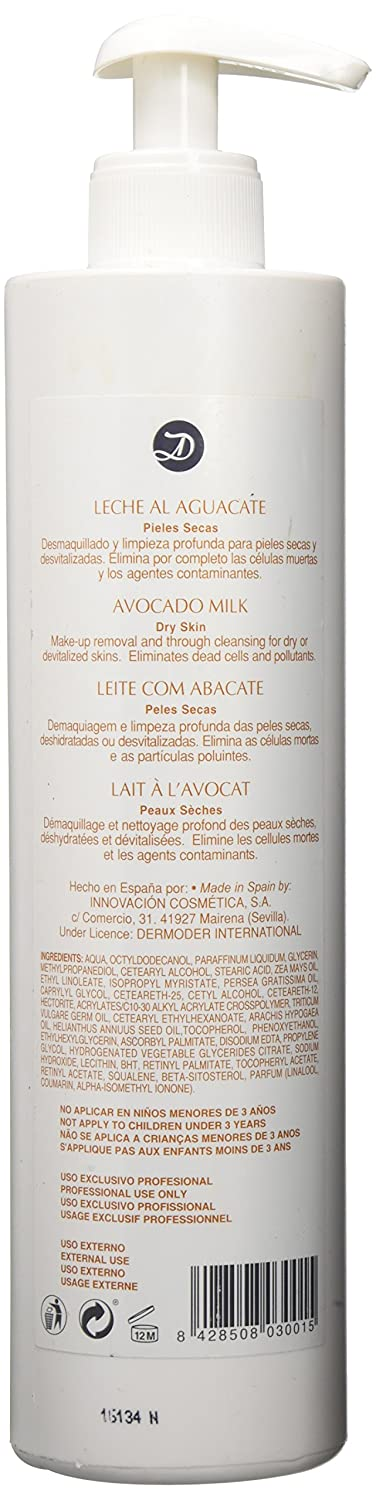Amazon.com: Dermoder Avocado Cleansing Milk for Dry Skin, 6.8 Ounce: Beauty