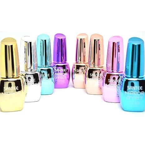 Buy santee 8 full color mirror effect chrome metallic no uv led santee 8 full color mirror effect chrome metallic no uv led nail polish bold lacquer solutioingenieria Images