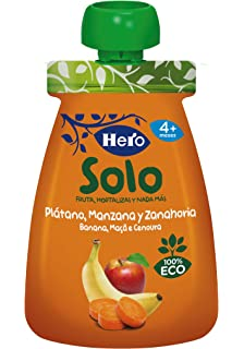 Hero Baby Eco Manzana platano y zanahoria - 100gr