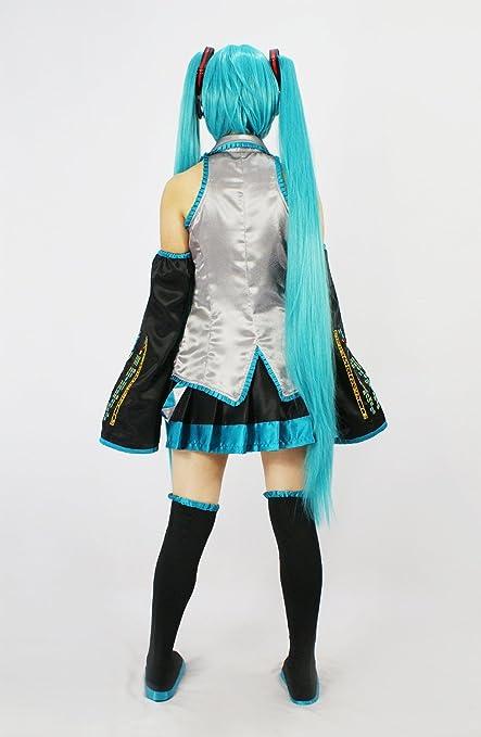 Amazon.com: Hatsune Miku Cosplay peluca generalmente versión ...