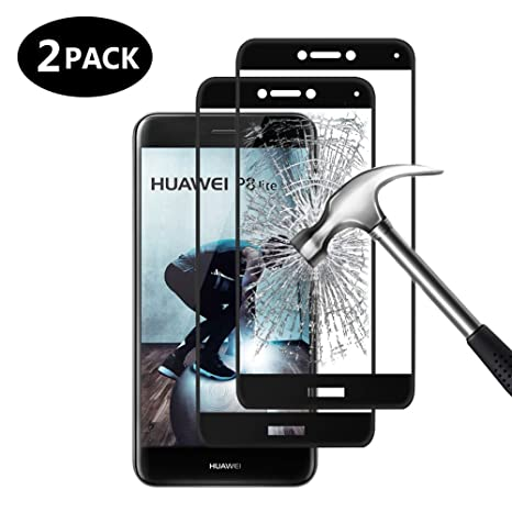 [2-Pack] Margot Cristal Templado para Huawei P8 Lite 2017 Protector de Pantalla