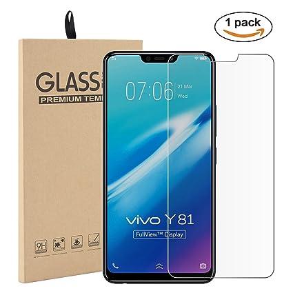 more photos fc40c 2e865 Amazon.com: ChainPlus VIVO Y81 Case, Scratch Resistant Shockproof ...