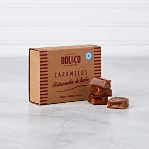 Candies of dulce de leche artesanales, the best, Argentina (handmade), Gift box with x 12 units.