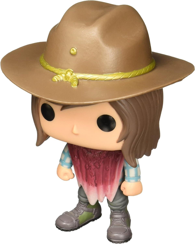 Funko- The Walking Dead: Carl Grimes (Bloody) Figurina de Vinilo, Multicolor (11068)