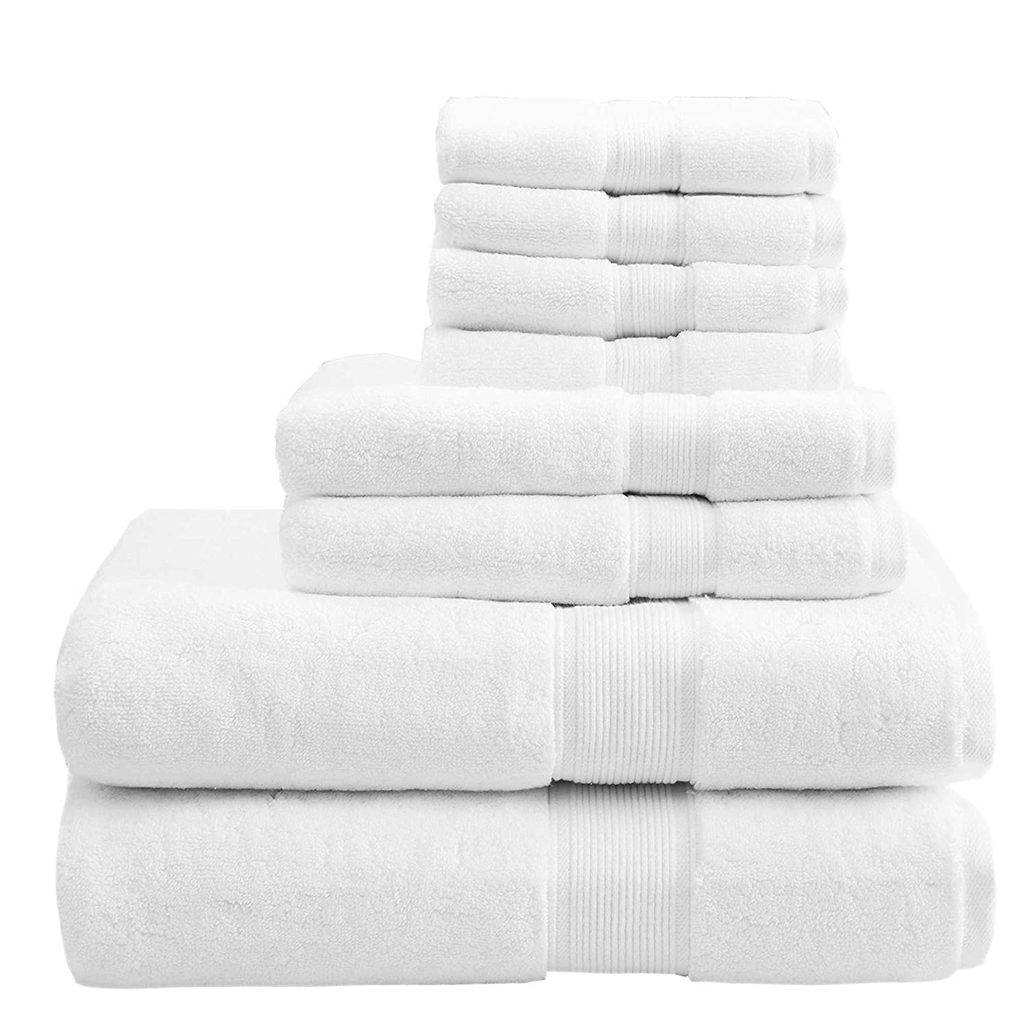 Created composed your FIVE STAR bath towel set 500 GSM Combed 100/% Cotton z/érotwist ORPHEEBS HOTEL SPA Supreme Premium Luxury Line WITHE 5 bathmat 50x80 cm // 20x32 Microcotton Various sizes