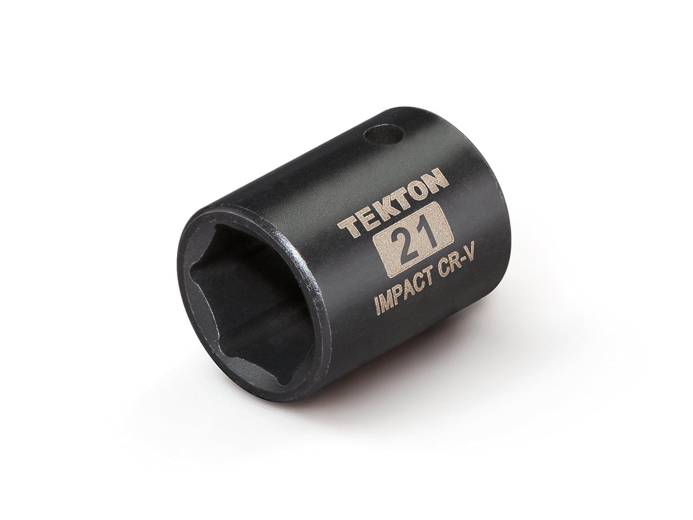 6-Point TEKTON 47756 1//2-Inch Drive by 13//16-Inch Shallow Impact Socket Cr-V