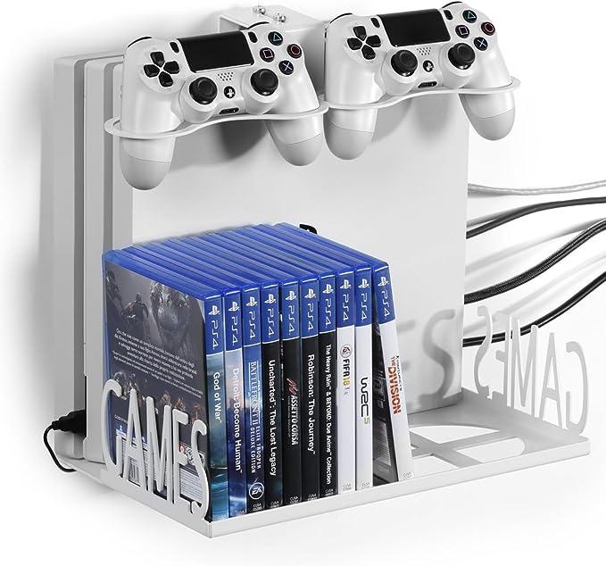 GameVspaceSwap Soporte Vertical para PS4, PS4 Slim y PS4 Pro, Xbox ...