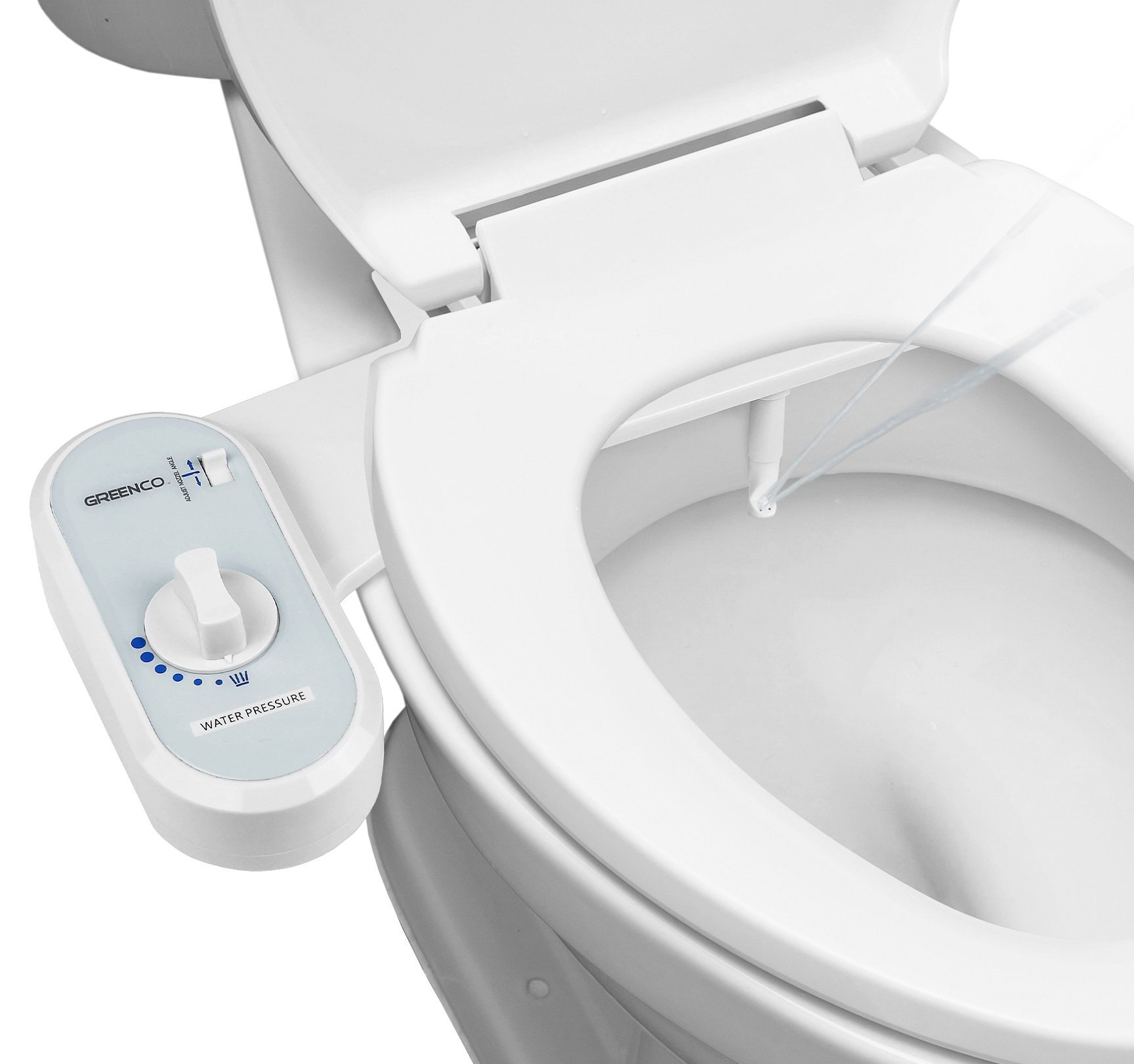 Greenco Bidet Fresh Water Spray Non-Electric Mechanical