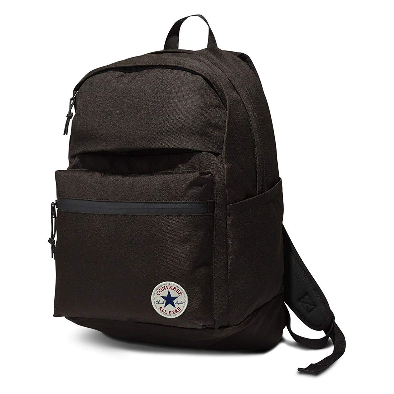 64f407a346e Amazon.com  Converse Mens Chuck Plus 1.0 Poly Laptop Backpack 10003335-A01  - Black  LACRU