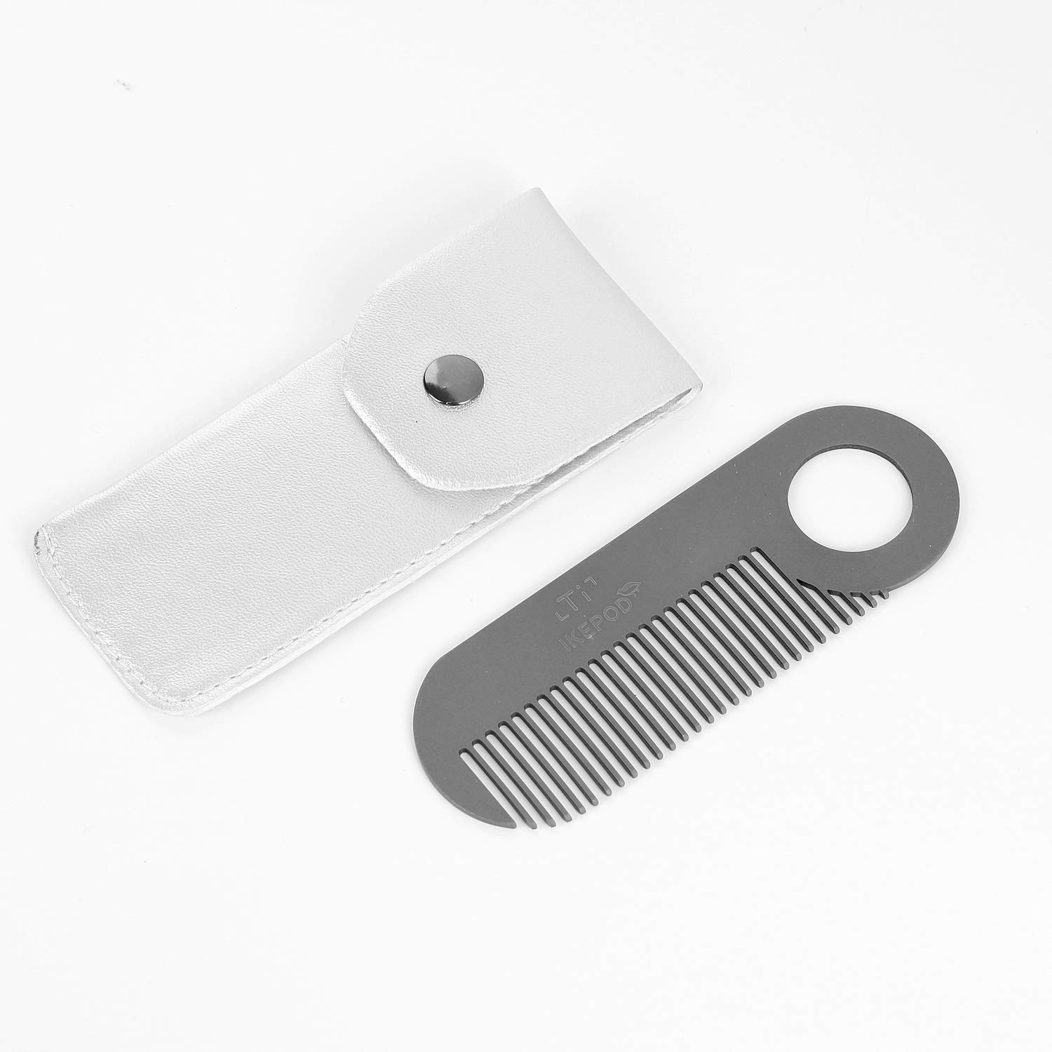 Amazon.com: IKEPOD - Peine de metal para barba de bolsillo ...