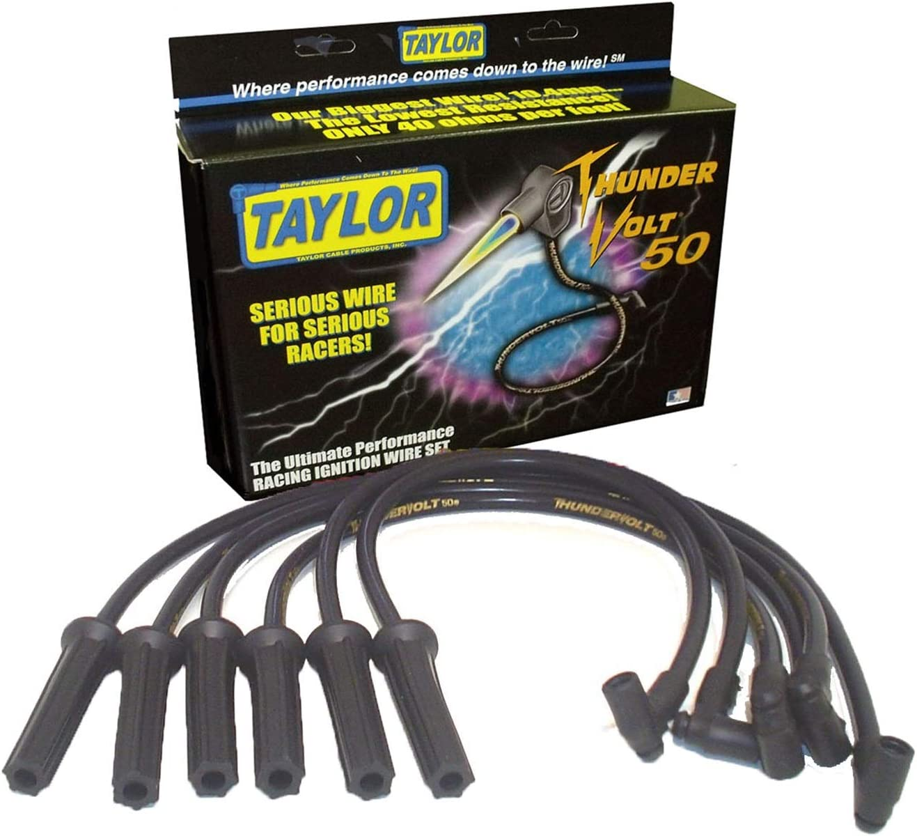 Taylor Cable 98024 ThunderVolt 50 Series Ignition Wire Set
