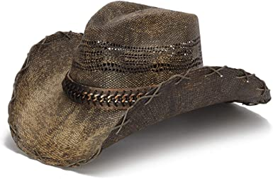 Stampede Hats Men's Grade Up Chain Cowboy Hat at Amazon Men's Clothing store