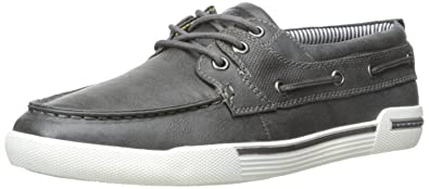 Kenneth Cole Unlisted Men's Anchor Shot SY Boat Shoe, Grey, ...