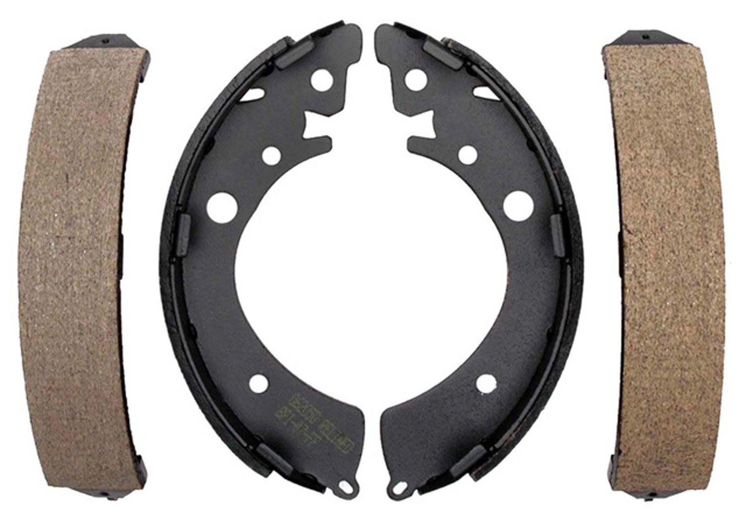ACDelco 17576B Professional Durastop Bonded Rear Drum Brake Shoe Set