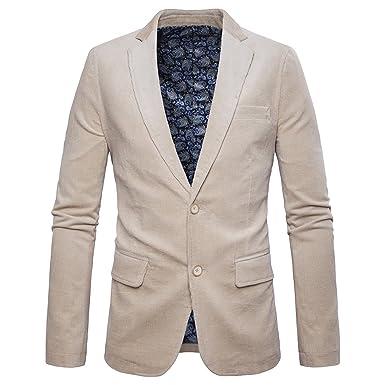 SANKE Herren Premium Sakkos Blazer Jacke Slim Fit Casual Sport Jacken  Mantel Jacken df13c6191c