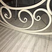 1cec578c2 Diseño Vintage para acabados metálicos en blanco envejecido Metal ...