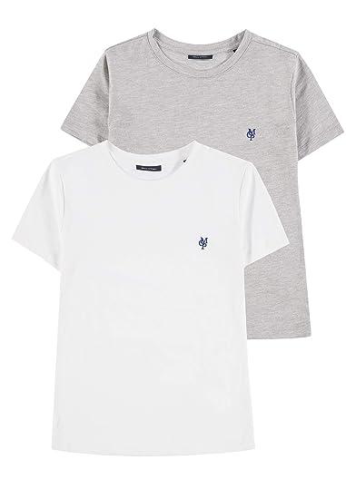 Marc O Polo Kids 2er T-Shirt 1/4 Arm Conjunto, (2 Pack ...