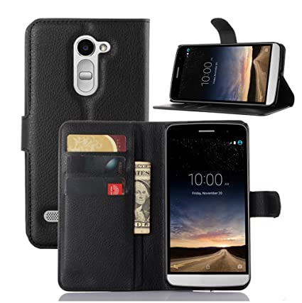 Amazon.com: LG-RAY/LG X190 Case–Manyip PU Leather Stand ...