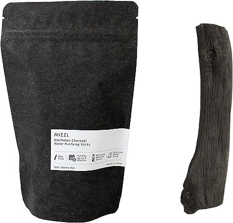 Mizzl Binchotan - Bastón purificador de Agua de carbón - Filtro de ...