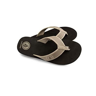 e0dda985c Amazon.com  Volcom Men s Daycation Flip Flop Sandal  Shoes