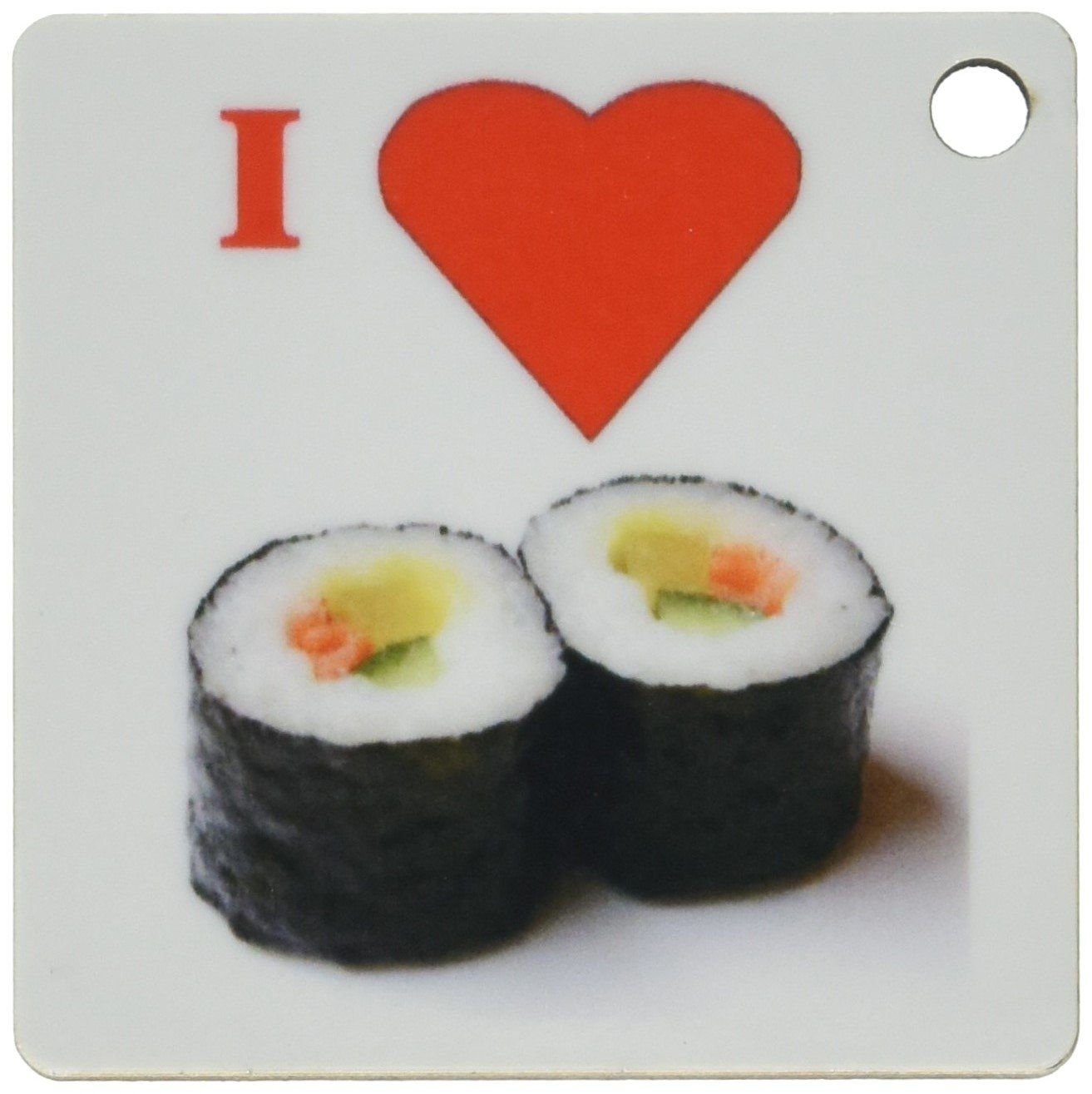 2c8fbbc0d 3dRose I love Sushi - Key Chains, 2.25 x 4.5 inches, set of 2 (kc_60718_1):  Amazon.in: Bags, Wallets & Luggage