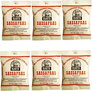 product image for Claeys Old Fashioned Hard Candy - 6 oz - 6 Pack - Sassafras - Since 1919