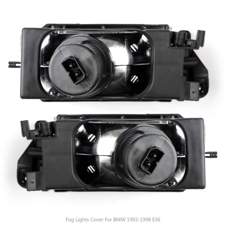 Topteng V/éhicule de Feux Antibrouillard Phare,Phare de Travail Imperm/éable IP67 Feux Projecteur Voiture Rond Travail Lampe pour B-M-W E36 3-series 2//4dr 1992-1998