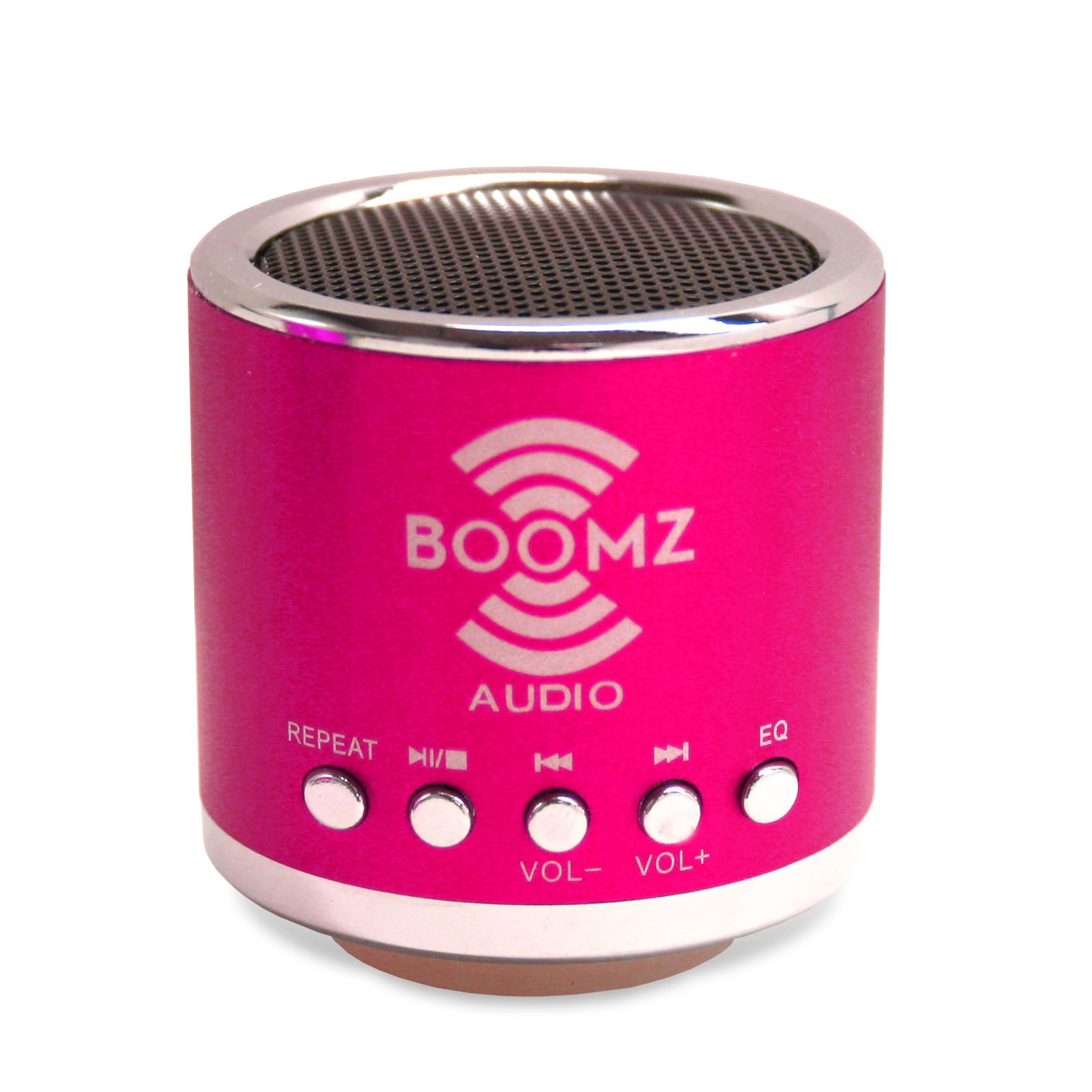BOOMZ Audio powerful mini MP3 Player/Speaker (pink) for Cellphone / Smartphone /Android Phone by Generic