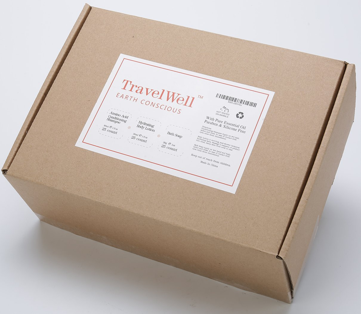 TravelWell Individually Wrapped Set - package