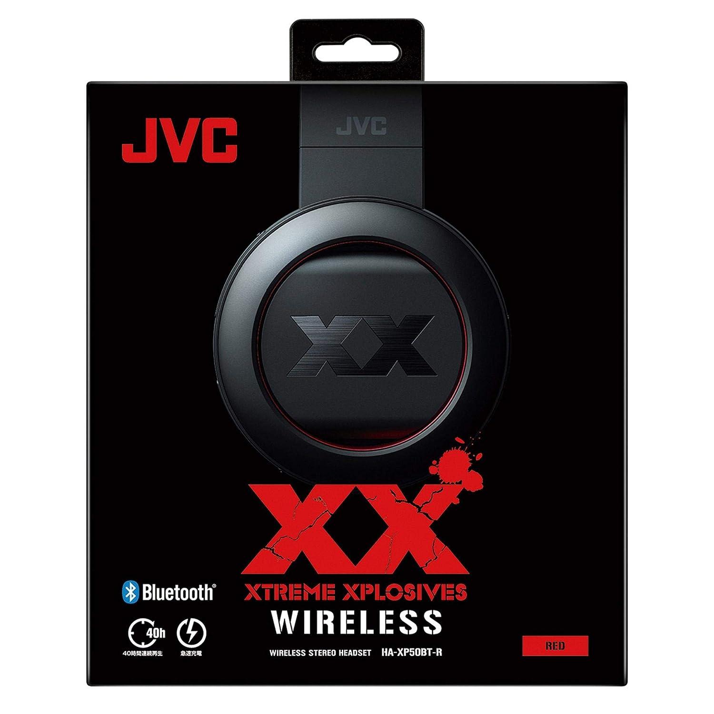 JVC Auriculares Estéreo inalámbricos Bluetooth HA-XP50BT-R (Red) 【Productos Originales japoneseses】【Envíos Desde Japón】: Amazon.es: Electrónica
