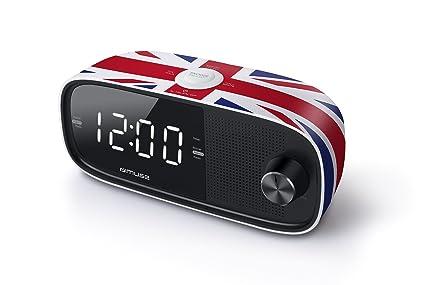 Muse M-168UK - Radio (Reloj, Digital, FM, 87,5
