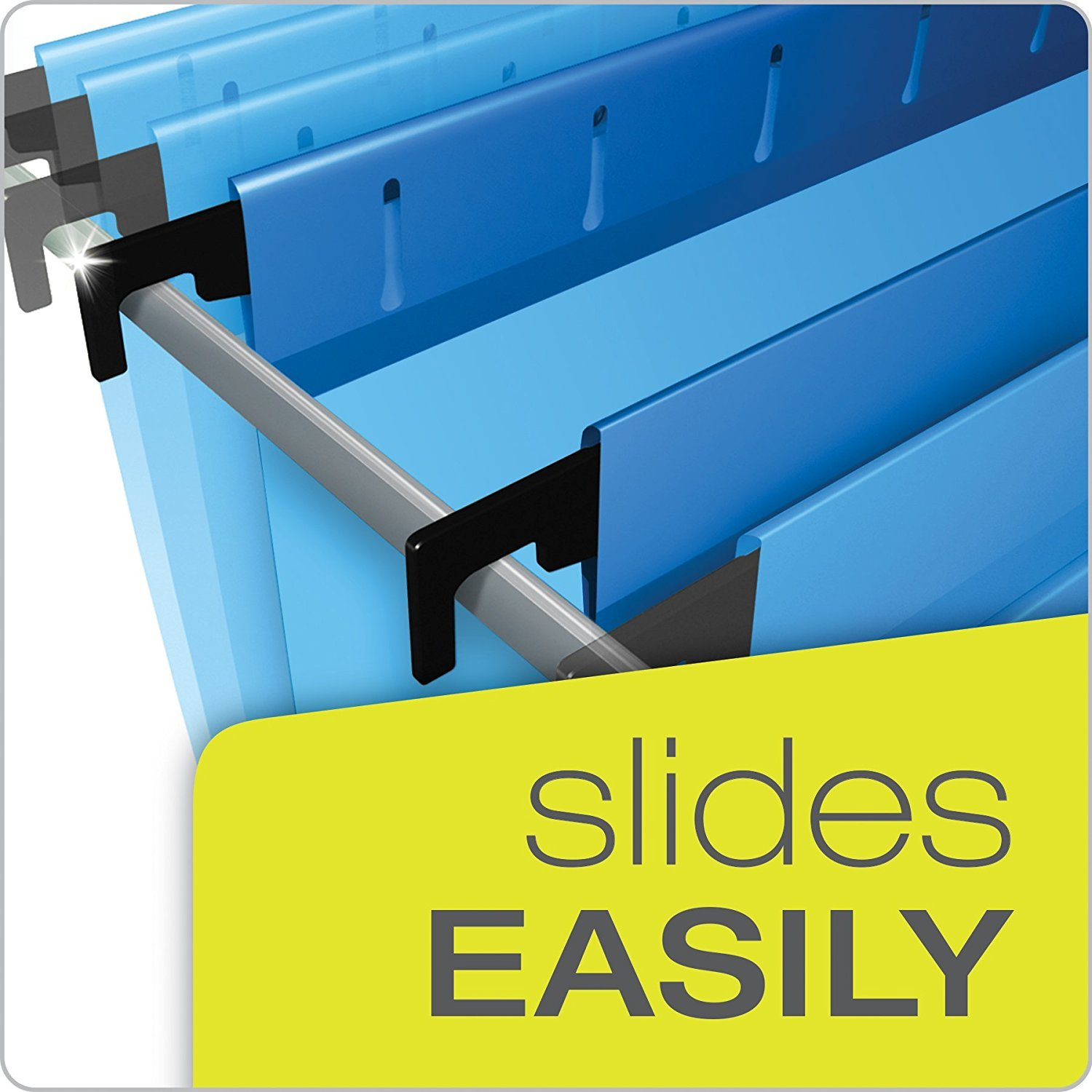 Pendaflex 59302 SureHook Reinforced Hanging Box Files, 2'' Expansion, Legal, Blue (Box of 25) (4 X Pack of 25)