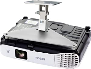PCMD, LLC. Projector Ceiling Mount Compatible with Epson Home Cinema 660 760HD 1060 2100 2150 (5-Inch Extension)