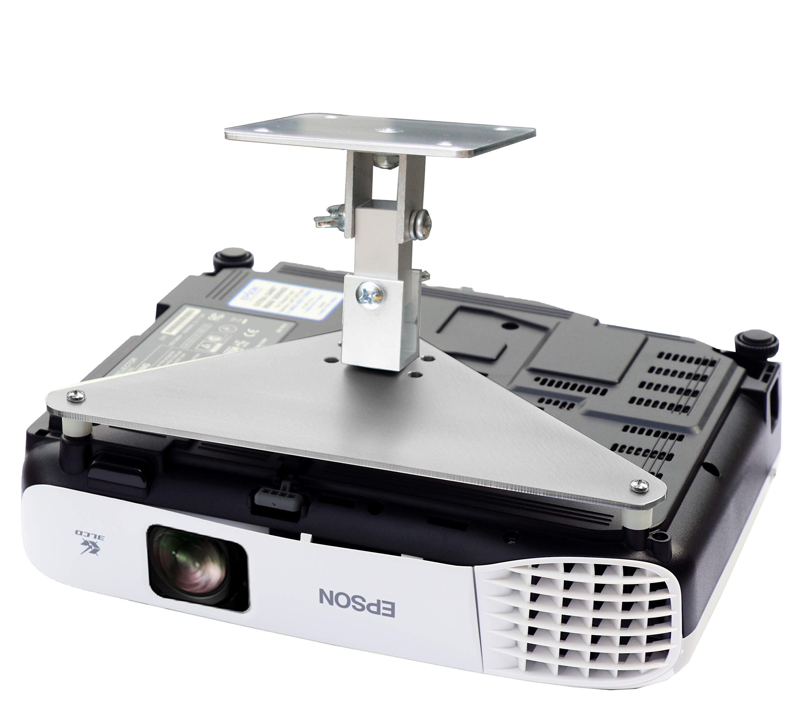PCMD, LLC. Projector Ceiling Mount Compatible with Epson VS230 VS240 VS330 VS335W VS340 VS345 (5-Inch Extension)