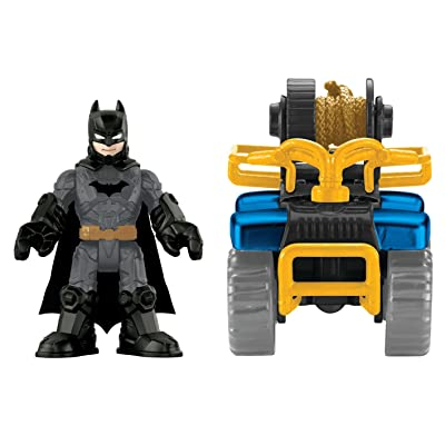 Fisher-Price Imaginext Streets of Gotham City Batman & ATV Action Figure: Toys & Games