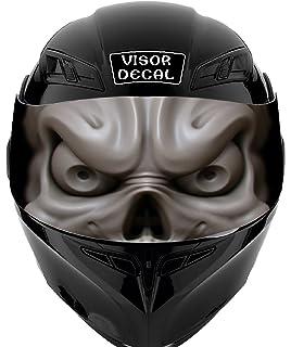Amazoncom CustomTAYLOR Reflective Helmet Visor Decals Many - Custom reflective helmet decals stickers