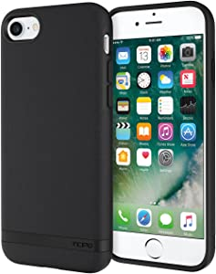 Incipio Carnaby iPhone 8 & iPhone 7 Case Esquire Series with Co-Molded Design and Ultra-Soft Cotton Finish for iPhone 8 & iPhone 7 - Black
