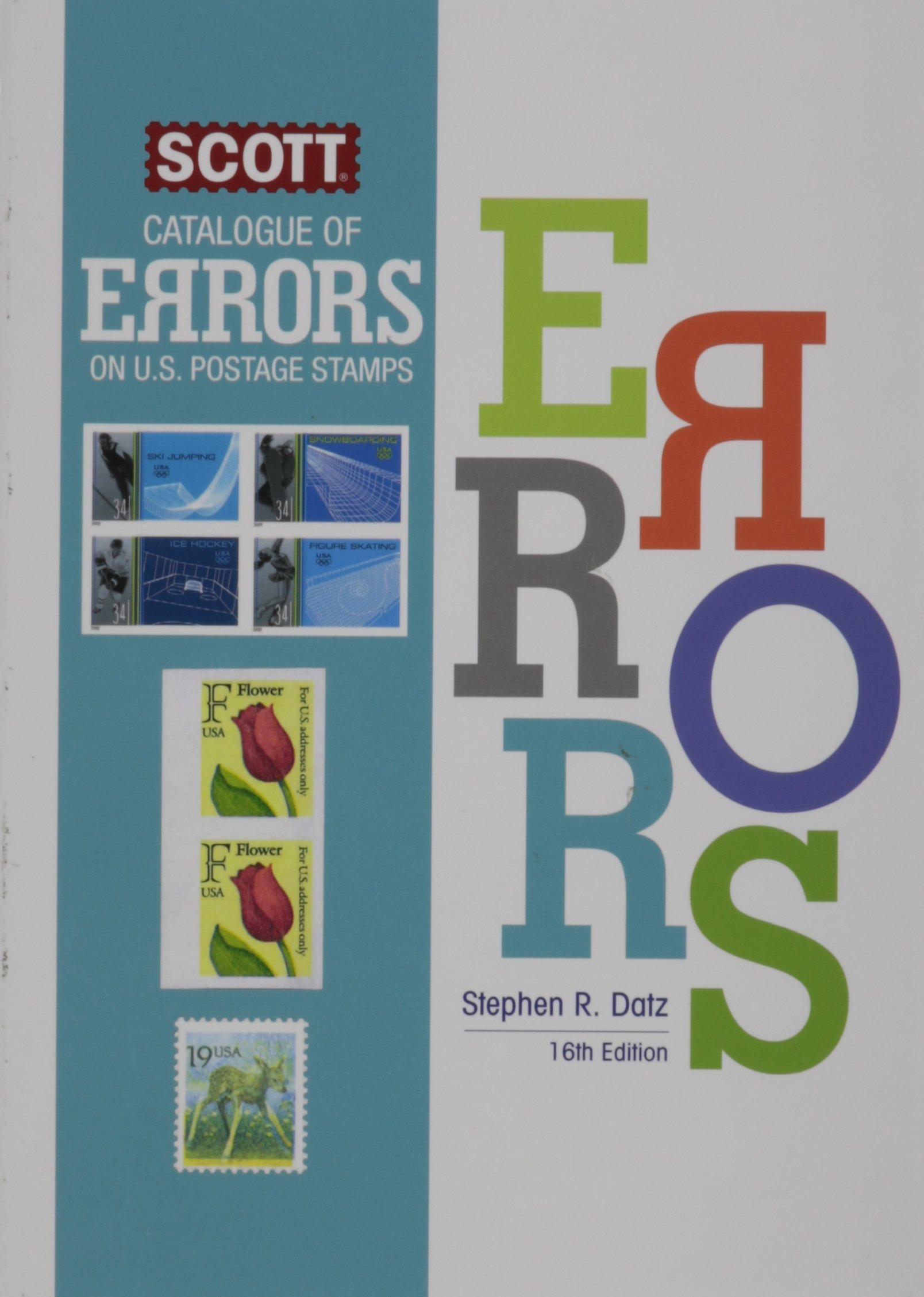 Scott Catalogue of Errors on US Postage Stamps