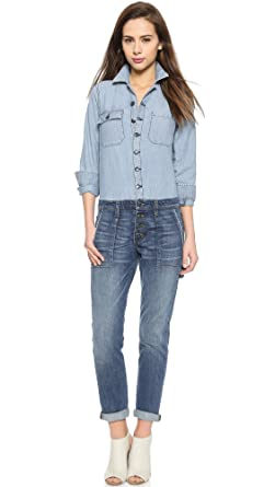 fbef3880f36 Amazon.com  Joe s Jeans Women s Riveter Jumpsuit