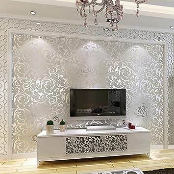 Einfache Moderne Europäische Wohnzimmer Tapete Tv ...