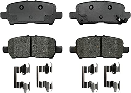 BRAKE PADS Complete Set Rear Disc Brake Pad Rear Semi-Metallic Pad
