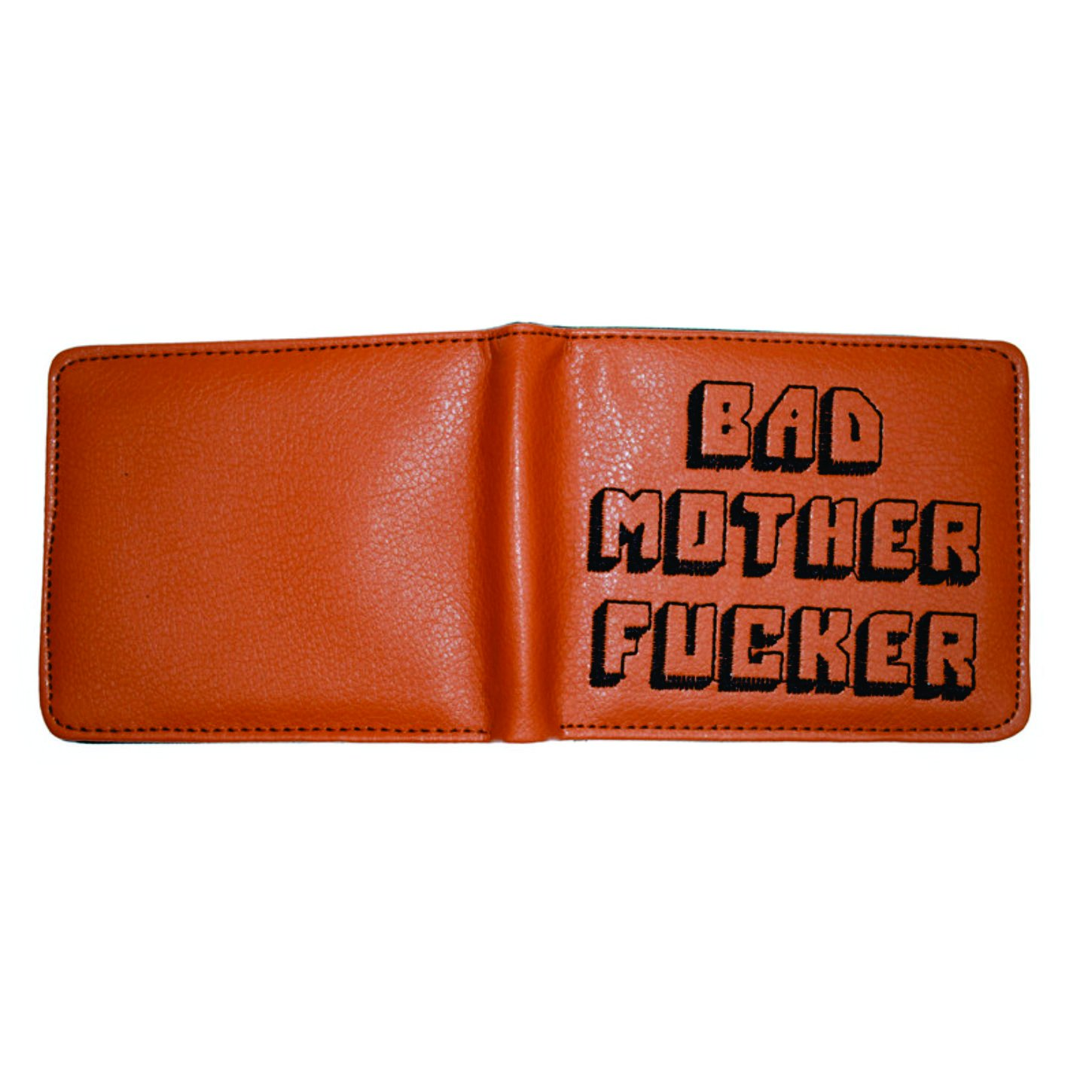 Amazon.com: Bad Mother F Ker - Cartera de piel sintética ...